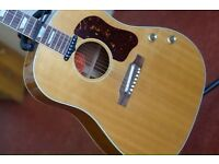 Used, 2002 Gibson Montana John Lennon J-160E Limited Edition Peace Acoustic-Electric Guitar for sale  Edinburgh