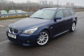 BMW 5 SERIES 535d M Sport Touring (blue) 2009