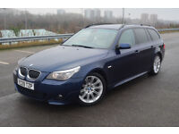 BMW 5 SERIES 535d M Sport Touring (blue) 2009