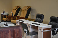 Hiring Nail Technician and Aesthetician - fully equipped