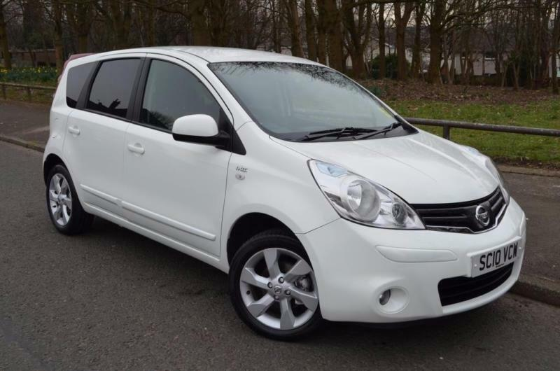 2010 nissan note 1 4 16v n tec 5dr in tollcross glasgow gumtree. Black Bedroom Furniture Sets. Home Design Ideas