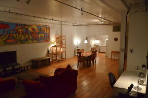 LOFT meuble, Vieux-Montreal / Furnished LOFT, Old Montreal