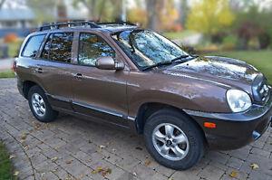 2005 Hyundai Santa Fe GLS SUV, Crossover