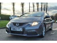 2013 Honda Civic 1.3 I-VTEC SE 5d 98 BHP Hatchback Petrol Manual