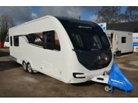 2019 - Swift Elegance 645 - 4 Berth - Transverse Island Bed - Touring Caravan