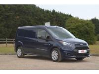 FORD TRANSIT CONNECT 1.5 TDCi 230 L2 Euro 6 Factory 5 Seat Crew Van - Nav & Air