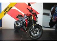2015 15 SUZUKI GSX-S1000 ABS L6 BLACK/RED! LOW MILEAGE!