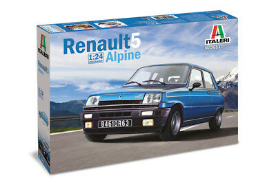 Renault 5 Alpine Kit ITALERI 1:24 IT3651 ()