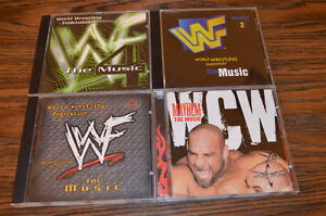 WCW MAYHAM The Music PLUS: WWF The Music Vol's 2, 3, and 4