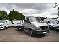 2014 MERCEDES-BENZ Sprinter 313 CDi Car Transporter Recovery Truck 16ft Body DIE