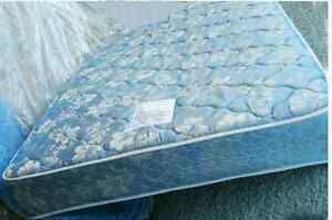 Double mattress 60$ delivery 30$. Pet smoke free home. No stains