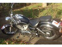 Yamaha Dragstar XVS 125 Motorcycle chopper low rider