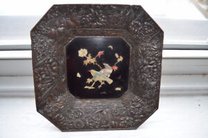 Antique Chinese decoration tray