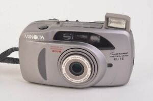 MINOLTA SUPREME FREEDOM ZOOM ELITE DATE FILM CAMERA