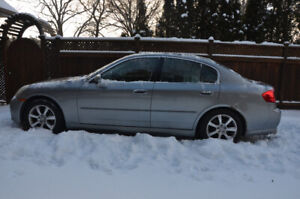 For Sale, as-is: 2005 Infiniti G35