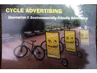 Bike advertising trailer for sale