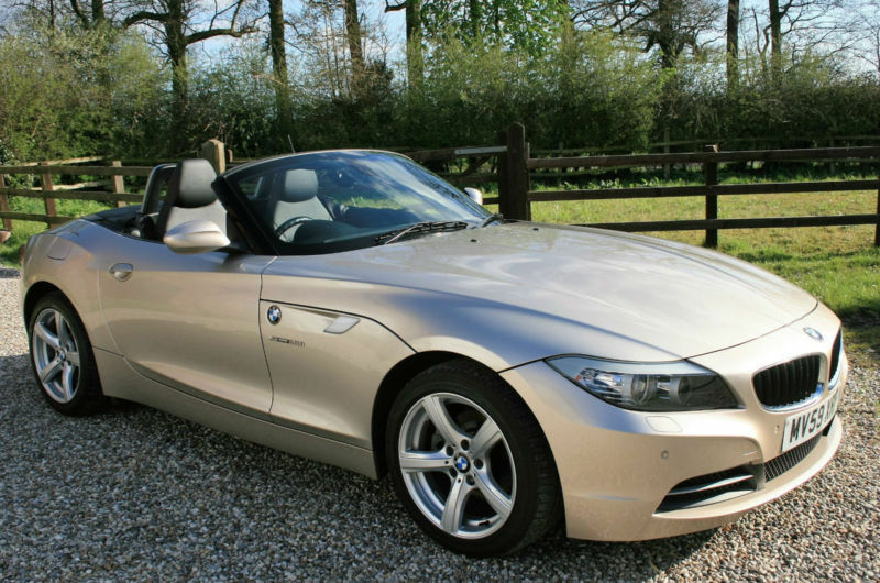 2009 bmw z4 23i sdrive 2 door manual convertible roadster. Black Bedroom Furniture Sets. Home Design Ideas