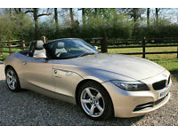 2009 BMW Z4 23i SDRIVE 2 DOOR MANUAL CONVERTIBLE ROADSTER LOW MILEAGE FSH