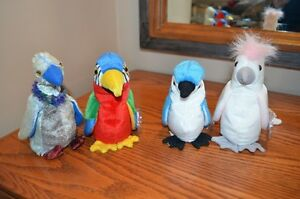 Ty Beanie Babies *Retired & Rare* - Set of 10 Birds