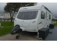 2010 LUNAR LEXON SE 4 BERTH CARAVAN FOR SALE FIXED BED MOTORMOVER