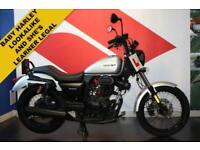 2017 67 SINNIS HOODLUM 125CC VERY LOW MILEAGE