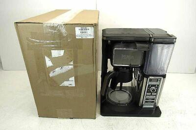 Ninja Glass Carafe Coffee Maker Brewer Bar System Single Serve Frother (Ninja Coffee Bar Single Serve Coffee Bar System)