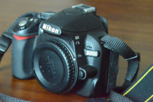 ALMOST NEW NIKON D3100 CAMERA FOR SALE