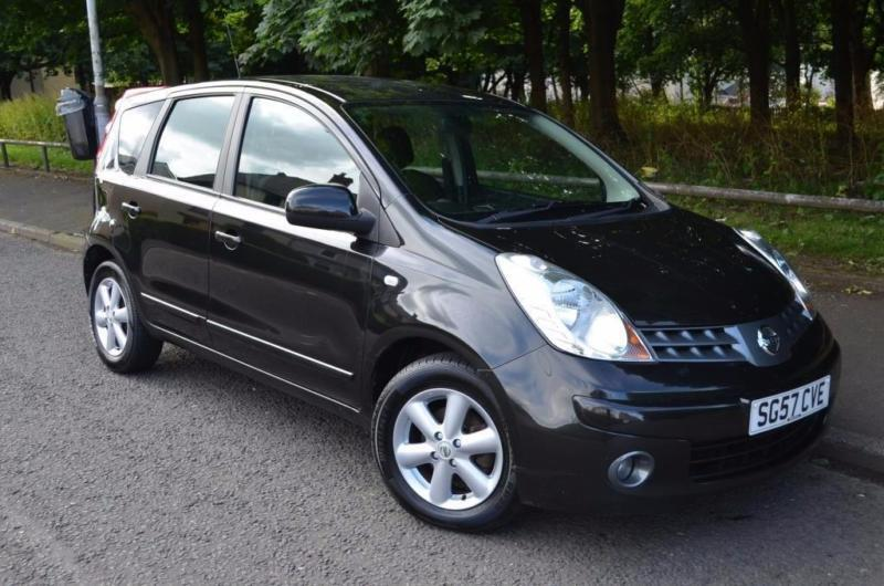 2007 nissan note 1 5 dci acenta 5dr in east end glasgow gumtree. Black Bedroom Furniture Sets. Home Design Ideas