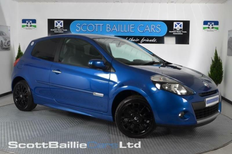 2009 59 renault clio 1 1 dynamique tce 3d 100 bhp in east end glasgow gumtree. Black Bedroom Furniture Sets. Home Design Ideas