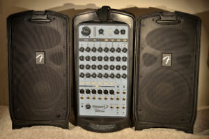 Fender Passport 500 Pro Portable PA system with USB.