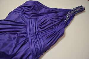 Periwinkle Evening Gown - With tag
