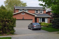 Mississauga Lorne Park 3+2 bedrooms House for rent