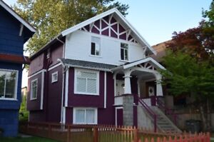 Furnished 3 Bedroom Suite in Home near W.5thAve & Dunbar in Kits