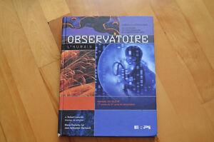 Observatoire - manuel de science 1er année du 2e cycle