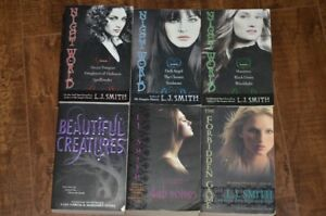 LJ smith novels and Beutiful Creatures