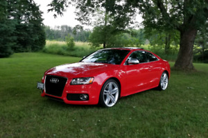 """REDUCED: 2008 Audi S5 RED """"Low KMS""""- V8 MANUAL"""
