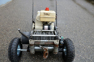 PORTABLE  GAS  POWERED  WINCH