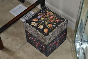 Large Decorative Box with Lid