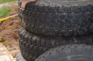 Studded Tires and Rims