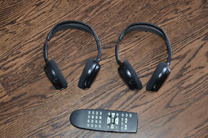 Nissan Pathfinder Wireless DVD Headphones & Remote