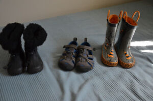 Boy shoes size 5-9 toddler