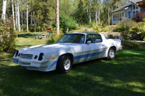 1981 Chevy Camaro Z28 T Top 350 10321kms all original!