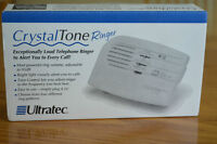 Ultratec Crystal Tone Ringer for the hearing challenged