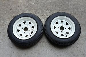 ** Trailer tires – 2 -  530 x 12 and 2 - 480 x 12 **