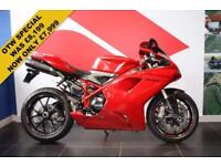 2014 14 DUCATI 848 EVO RACING RED