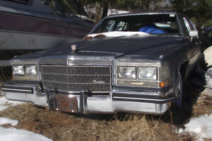 """PARTING OUT or """"AS IS"""" CADILLAC 1984 DEVILLE"""