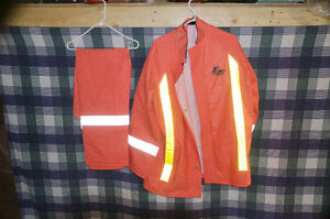 """Orange Storm Fighter, out fitters"""" ,Pants & Jacket,"""
