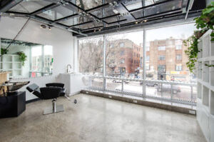 Commercial space for hairdressers, aesthetics, therapeutics