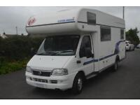2006 EURA MOBIL FOR SALE LOW MILEAGE 6 BERTH 4 BELTS