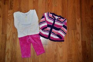 Lot de vêtements pour fille 12 mois